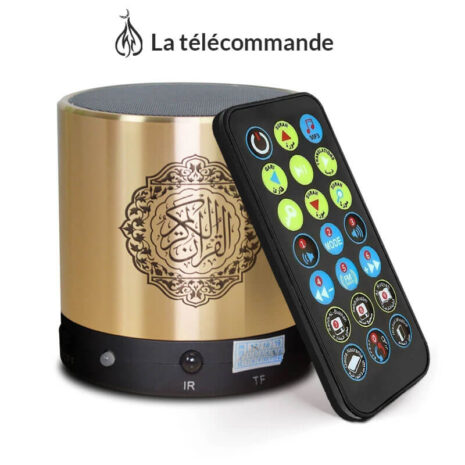 telecommande-enceinte-coranique-noir-muslim-mine