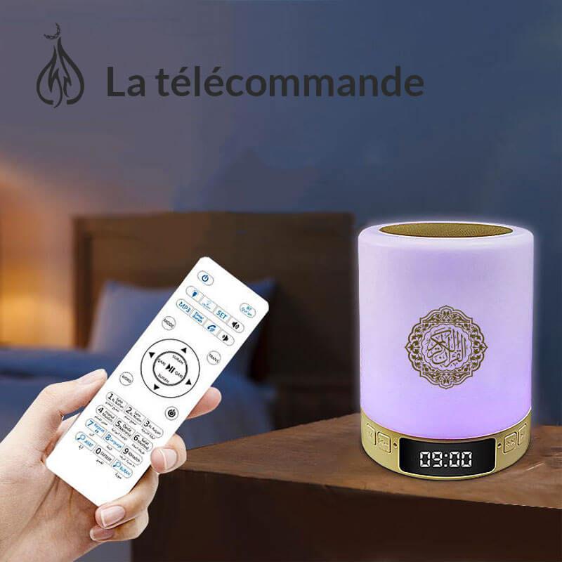 telecommande veilleuse-coranique adhan muslim mine