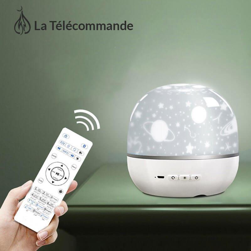 telecommande veilleuse coranique projecteur muslim mine
