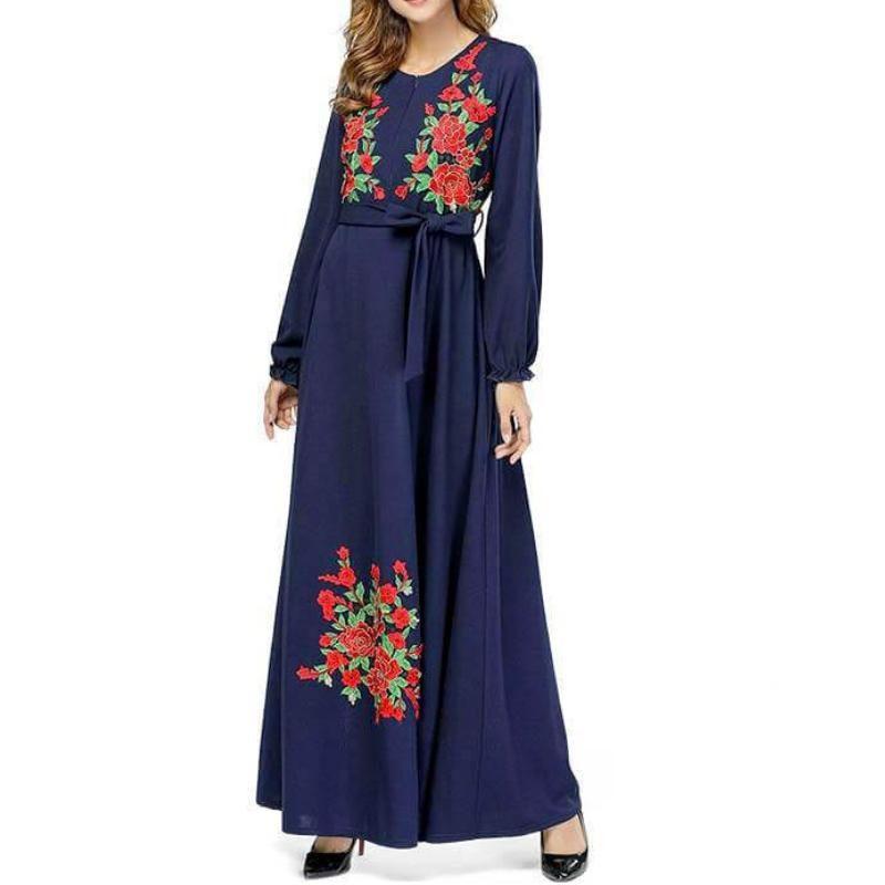 robe allaitement habillée muslim mine