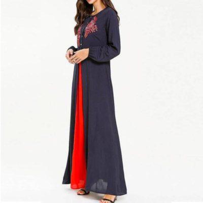robe allaitement chic de côté femme musulmane muslim mine