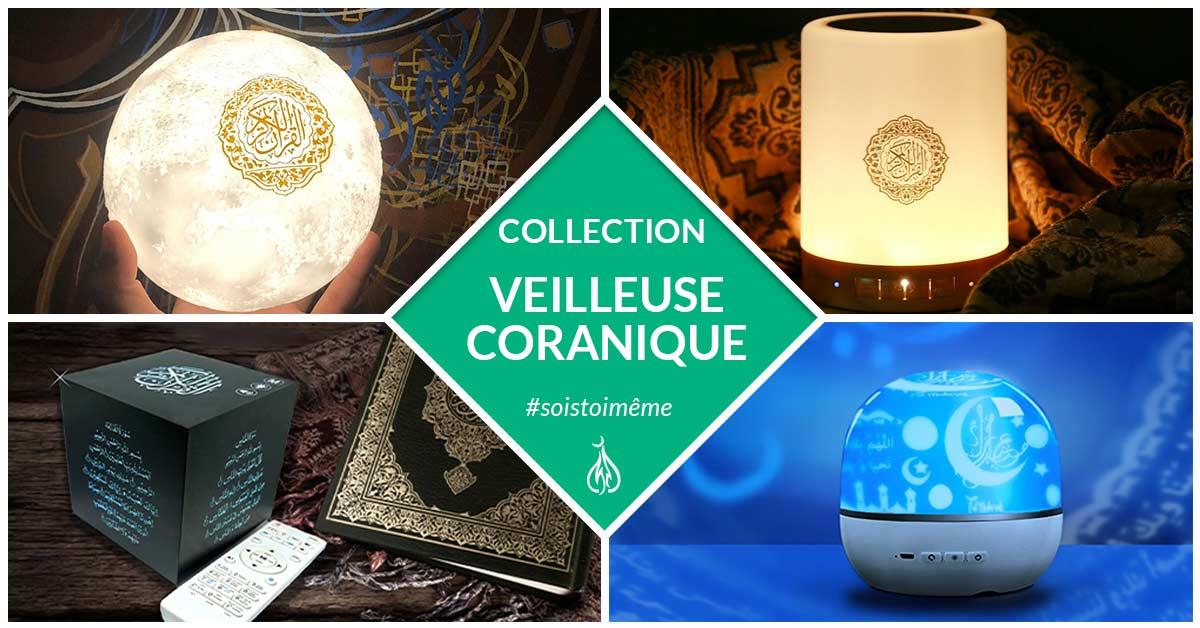 collection veilleuse coranique muslim mine