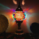 lampe turque badr mosaïque lumineuse muslim mine