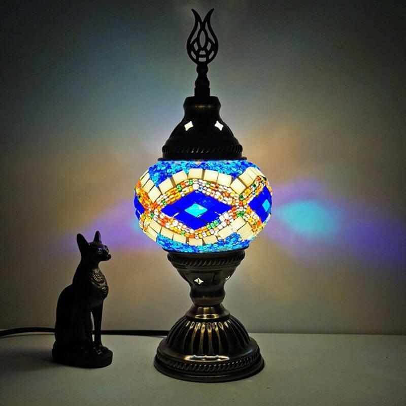 lampe turque goz marine muslim mine