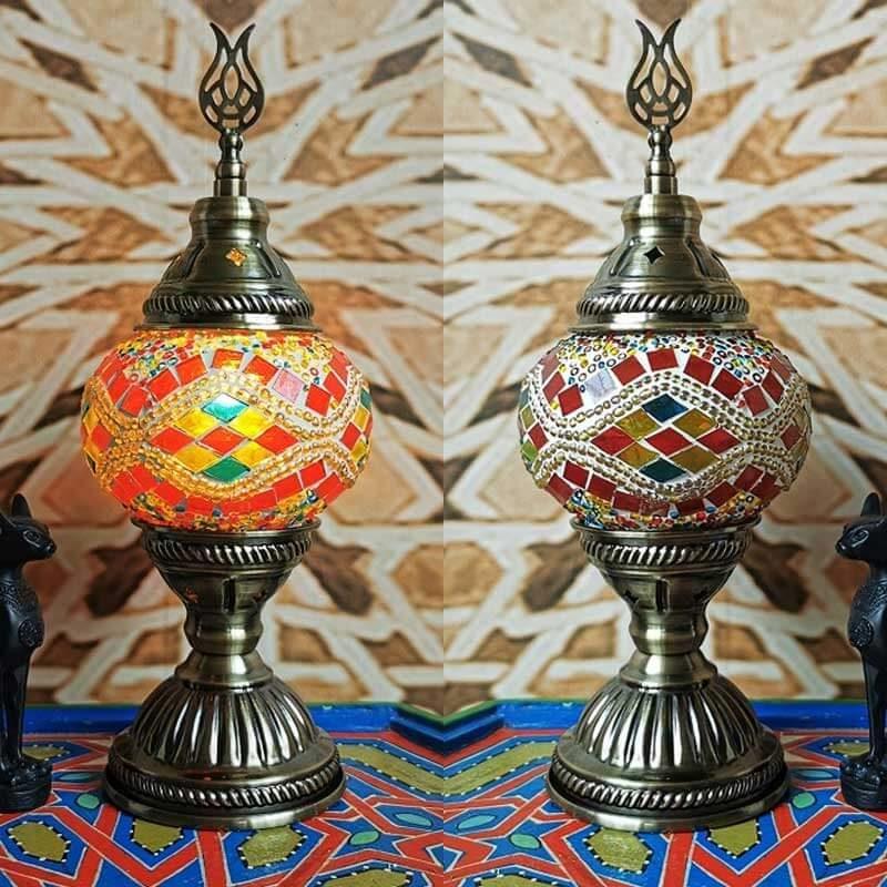 lampe turque goz rouge jour muslim mine
