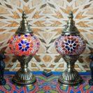 lampe turque gul rouge muslim mine