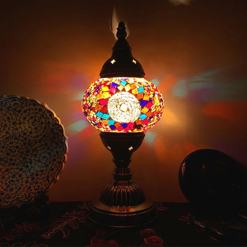 lampe turque gunes lumineuse muslim mine