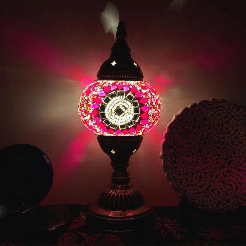 lampe turque gunes rose muslim mine