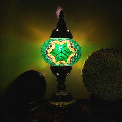 lampe turque hexa lumineuse muslim mine