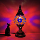 lampe turque marocaine rouge muslim mine