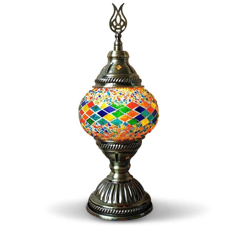 lampe turque mosaique muslim mine
