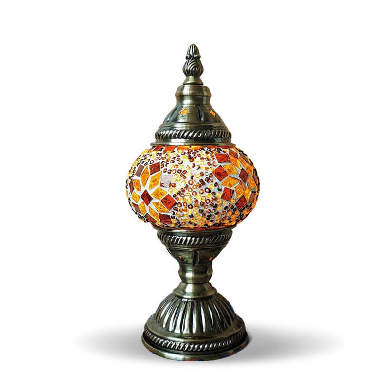 lampe turque mosaïque muslim mine