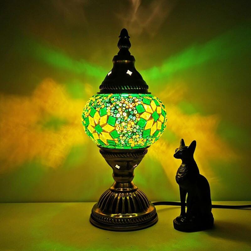 lampe turc star verte muslim mine