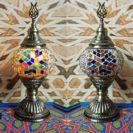 lampe turque vitrail muslim mine