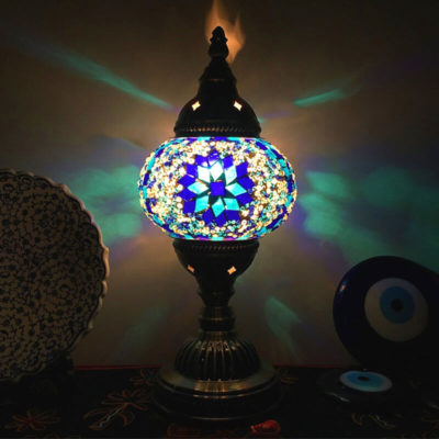 lampe turque yildiz lumineuse muslim mine