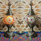 lampe turque zellige jour muslim mine