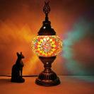 lampe turque zellige lumineuse muslim mine