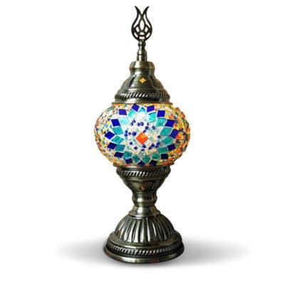 lampe turque zellige muslim mine