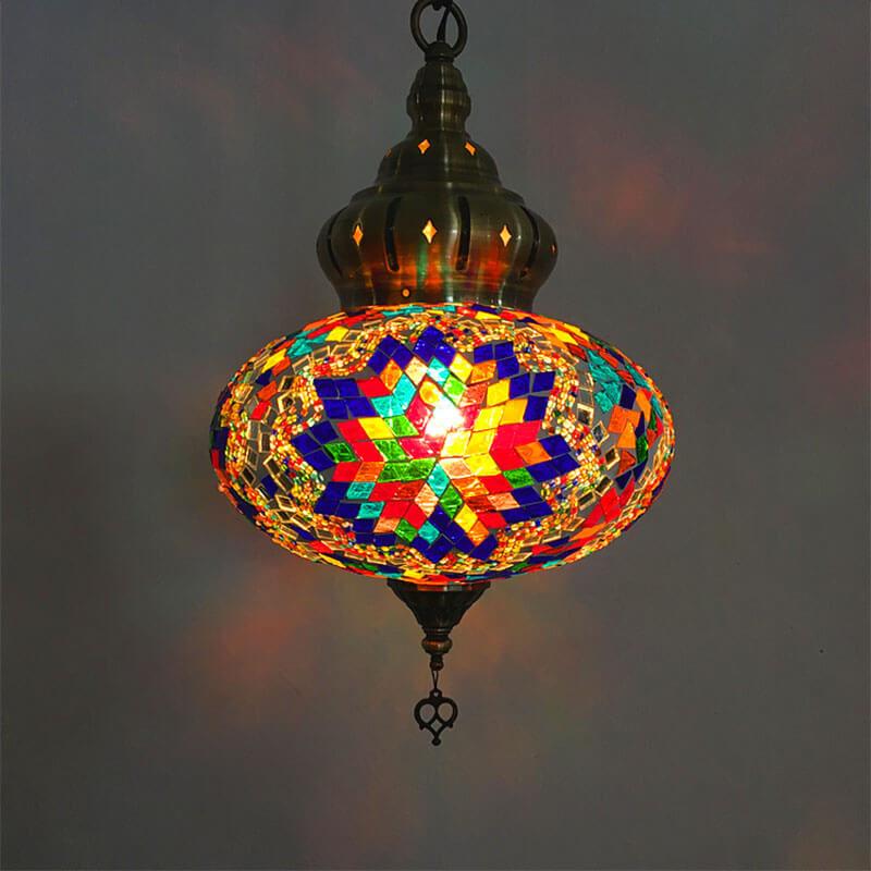 suspension oriental mosaique muslim mine