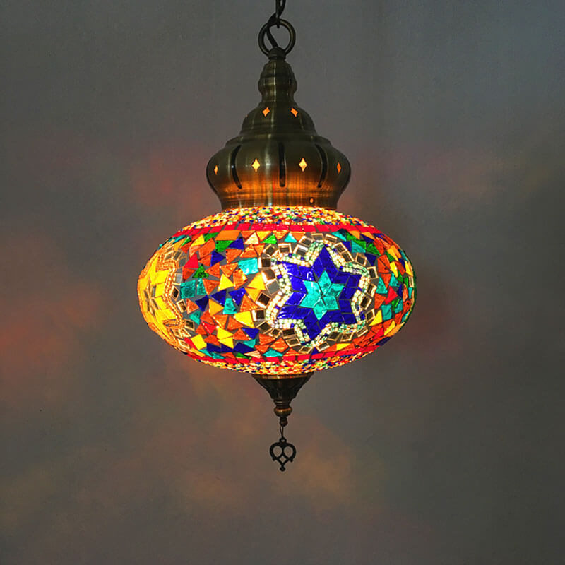 suspension orientale candy lumineuse muslim mine