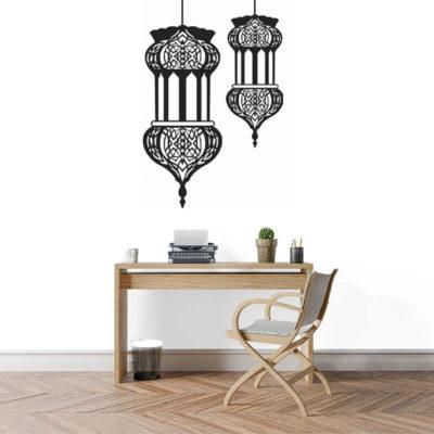 stickers lanterne orientale muslim mine